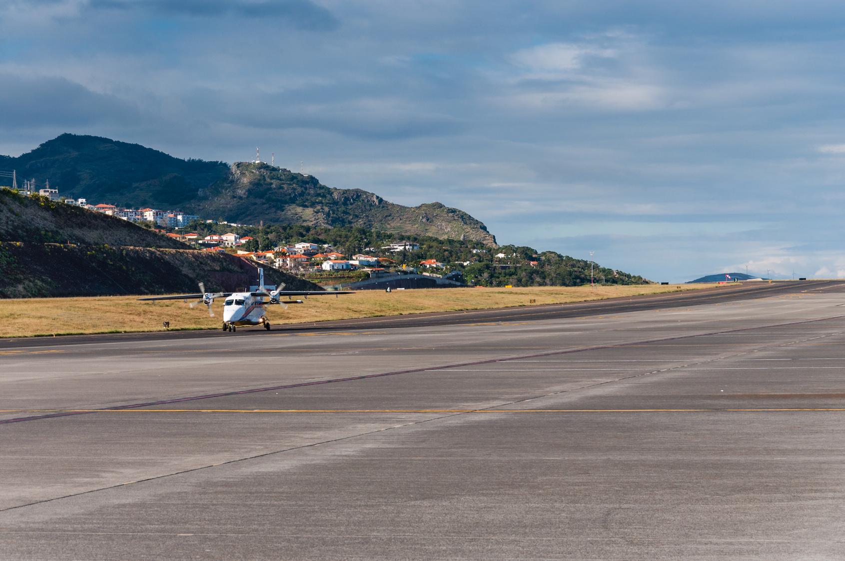 niebezpieczne lotnisko na Maderze