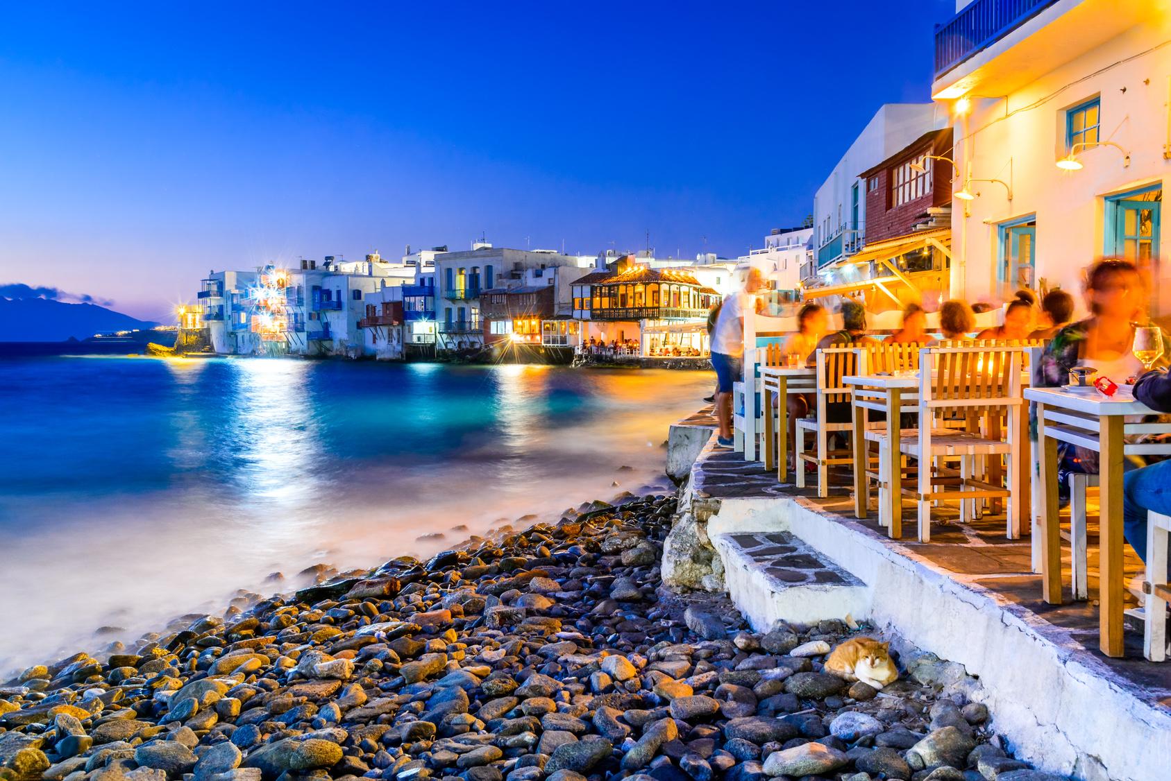 Mykonos w Grecji