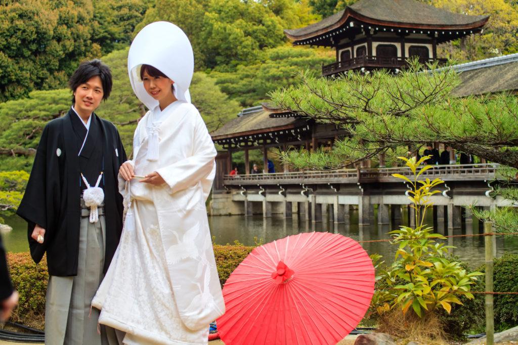 Panna młoda w Japonii