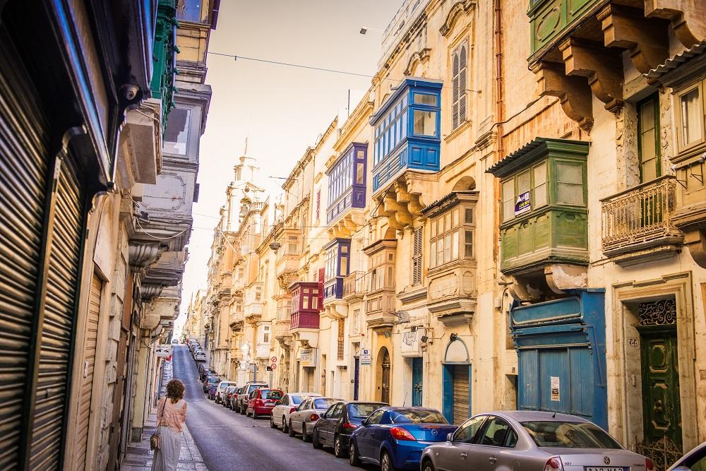 Ulica na Malcie