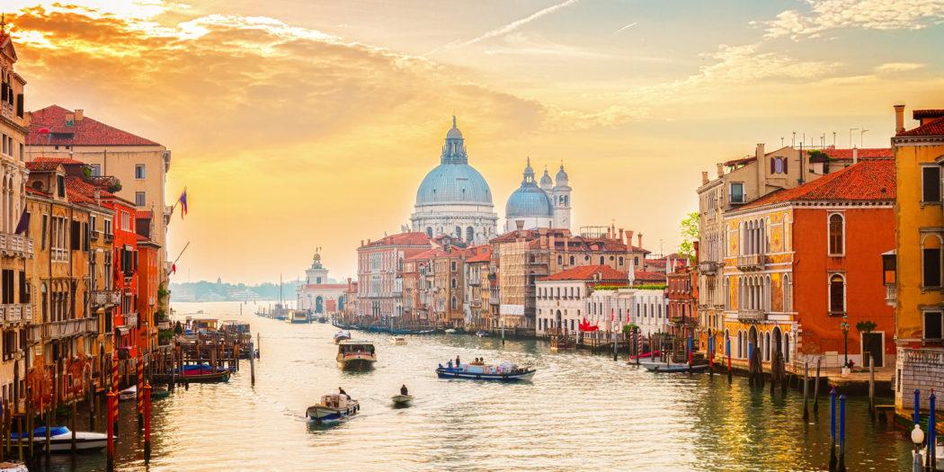 Grand canal, Wenecja, Włochy