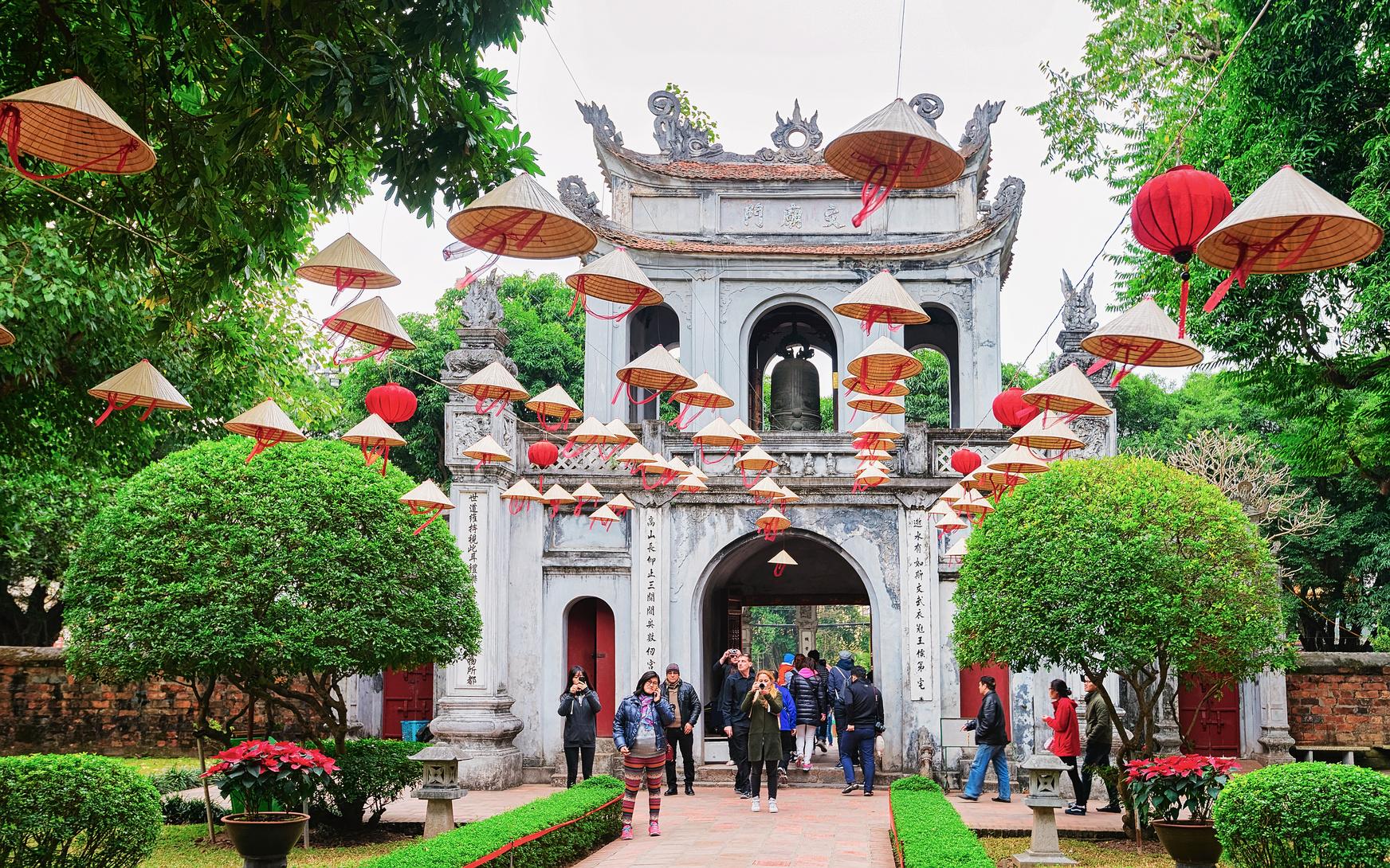 Świątynia Literatur Wietnam