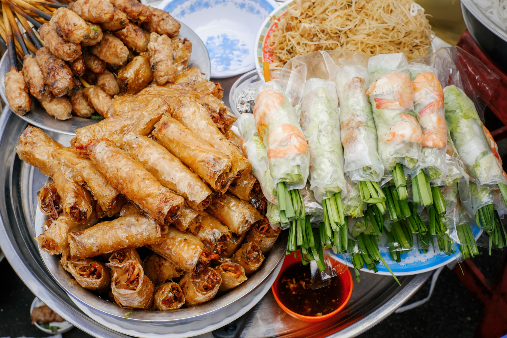 Wietnamski street food