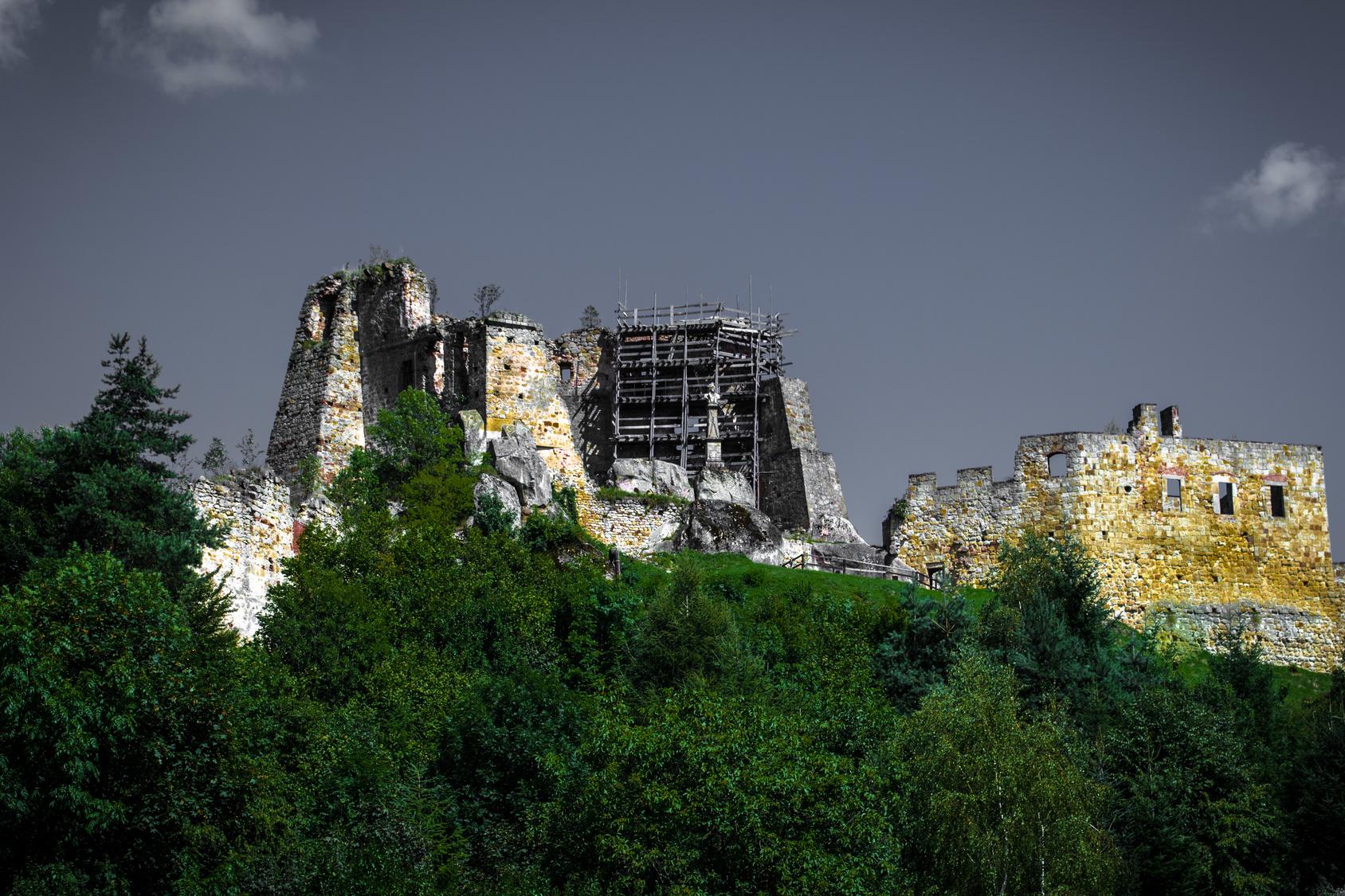 Zamek Kamieniec koło Krosna