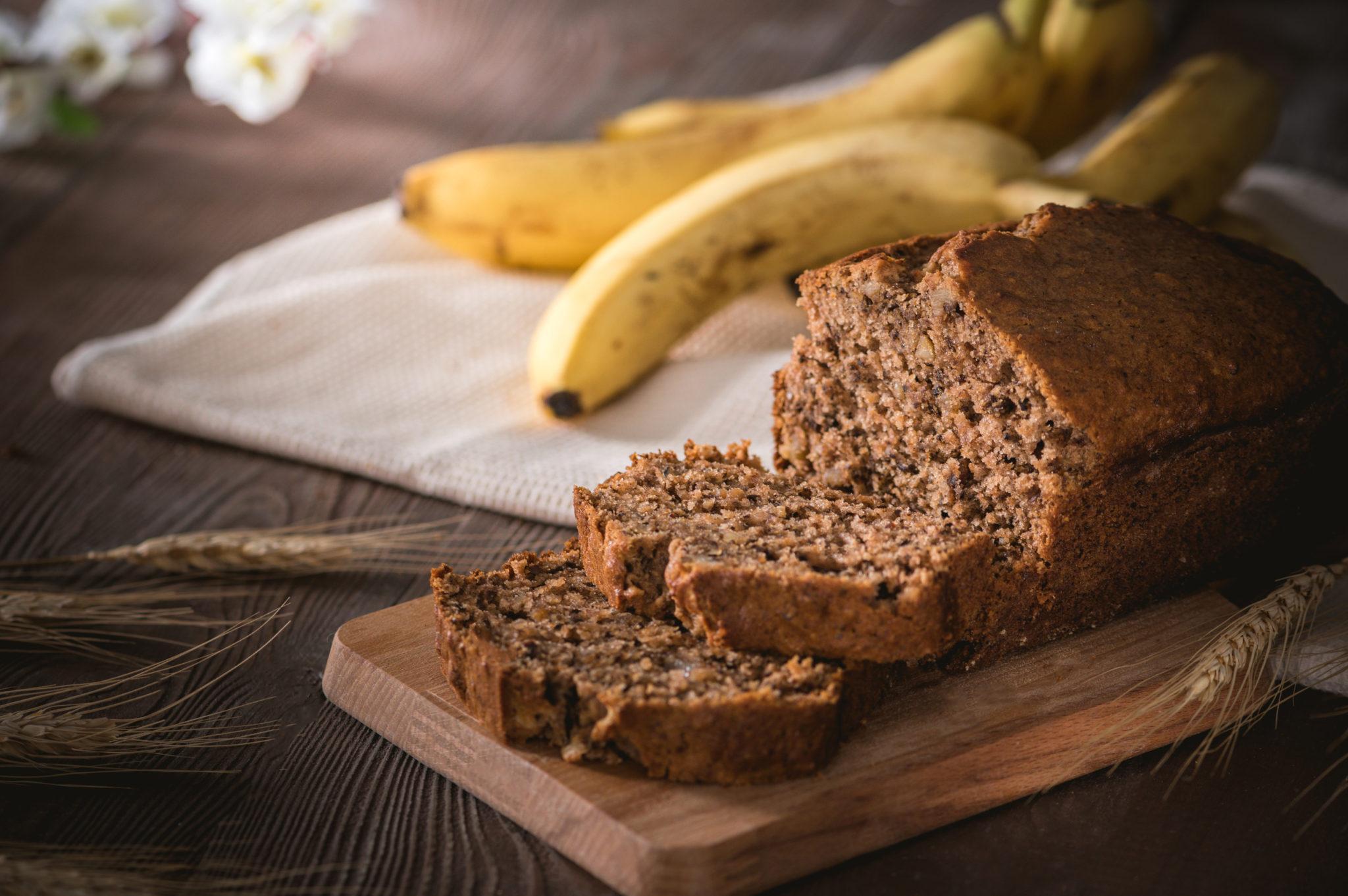Jak zrobić chlebek bananowy?
