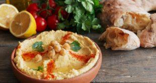 Pasta na śniadanie - hummus