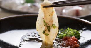 potrawa z ryby fugu