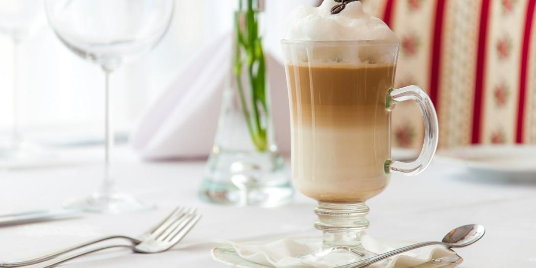 kawa latte w domu