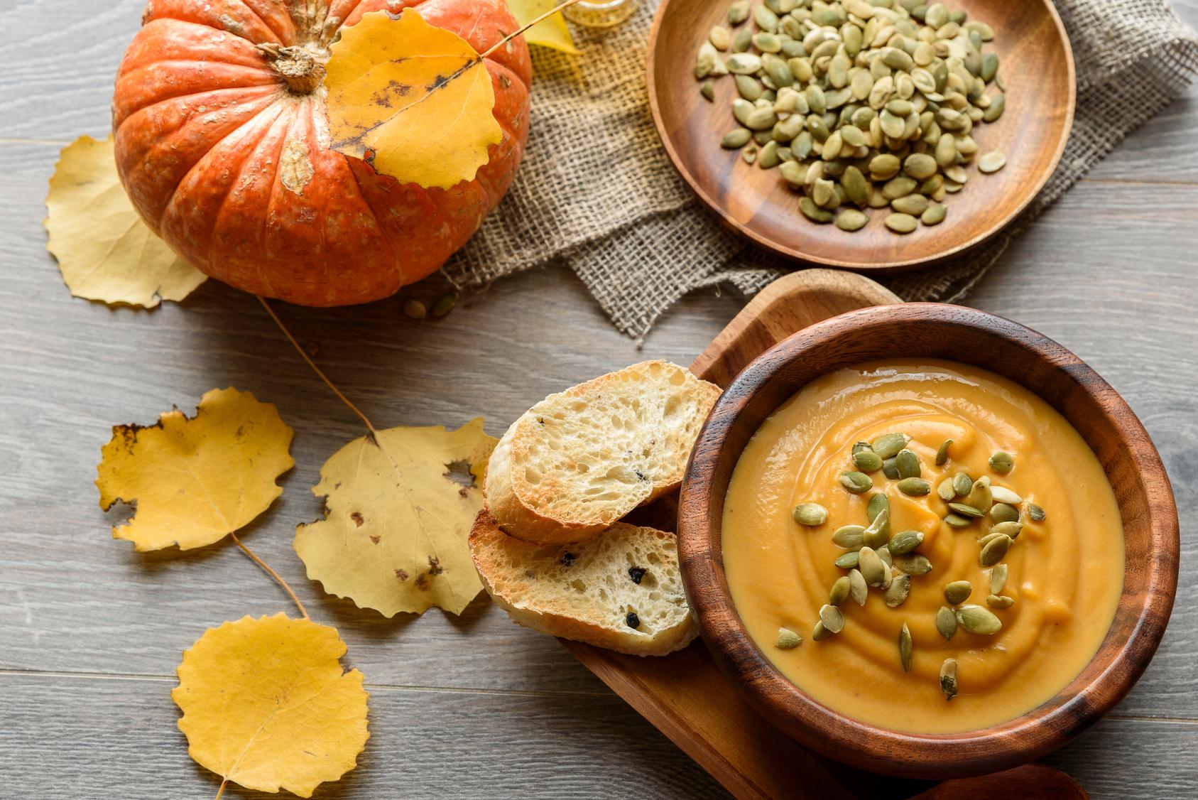 Pyszna i rozgrzewająca zupa dyniowa