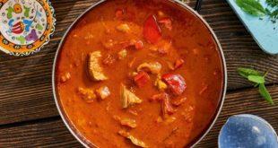 Zupa gulaszowa z młodej wołowiny
