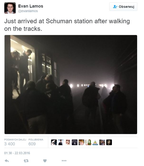 zamach w metrze Bruksela