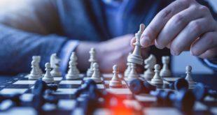 Podczas gry w szachy