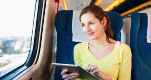 Kobieta w pociągu