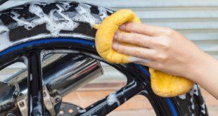 Dokładne mycie motocykla