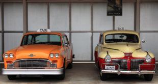 Samochody retro - taxi