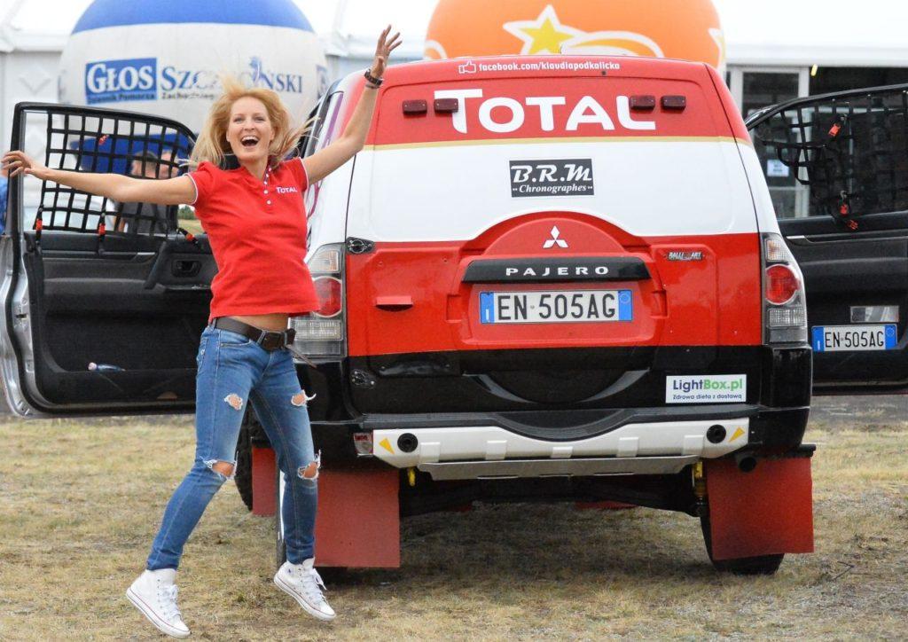 Klaudia Podkalicka marzy o Dakarze