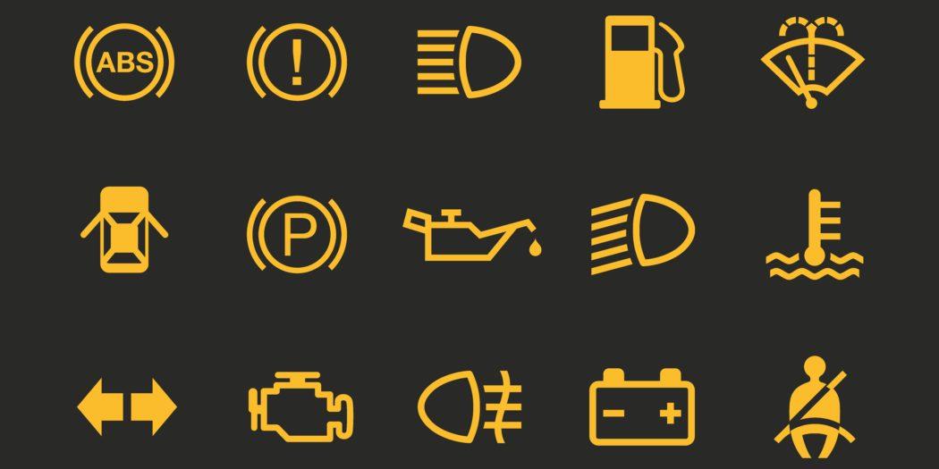 kontrolki bezpieczeństwa w samochodzie