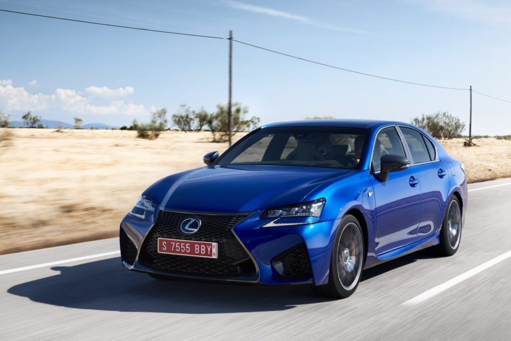 Lexus Ultrasonic Blue
