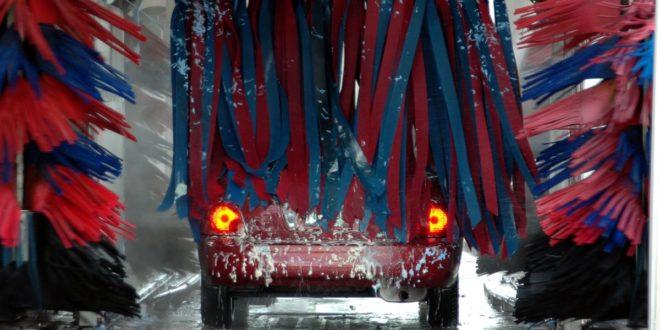Mycie auta zimą
