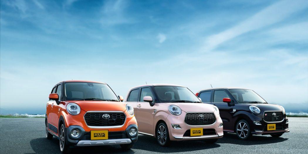 Pixis Joy – nowe minisamochody Toyoty