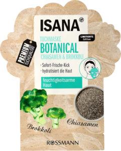 Isana maska Botanical Brokuł&Chia