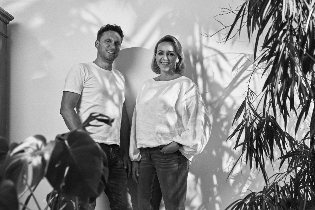 Magda i Damian - twórcy marki Krayna