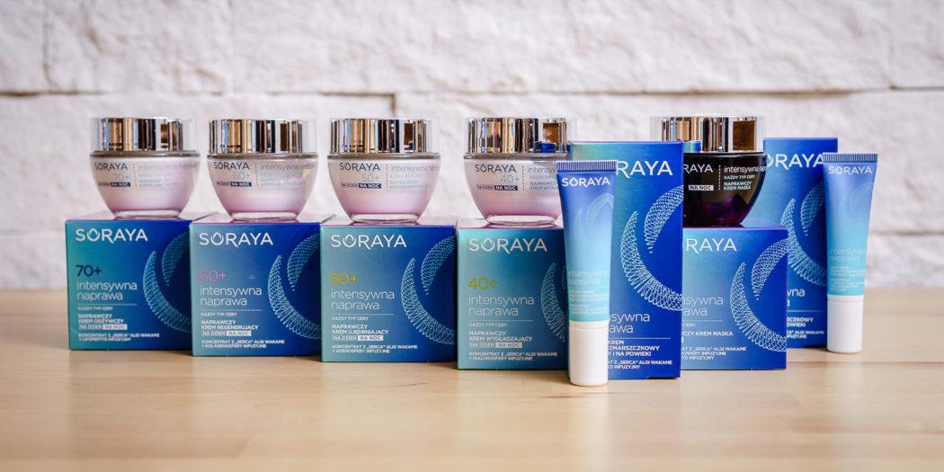 Nasz test: Soraya Intensywna naprawa - seria kosmetyków dla kobiet 40+