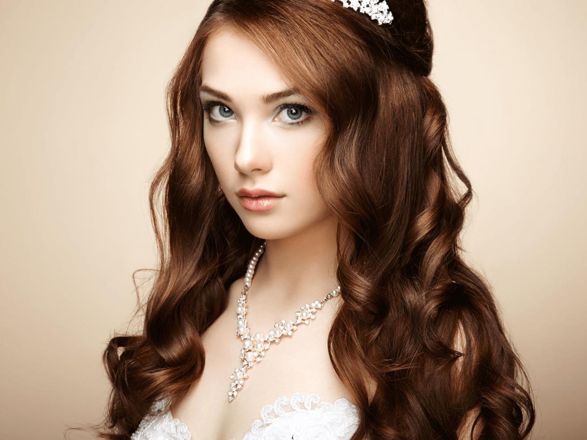 makijaż ślubny dla kobiety o jesiennym typie urody