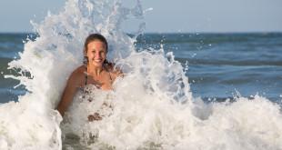 Kobieta w wodzie