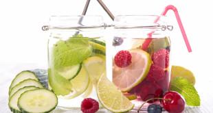 Zamiast wody smakowej woda z owocami