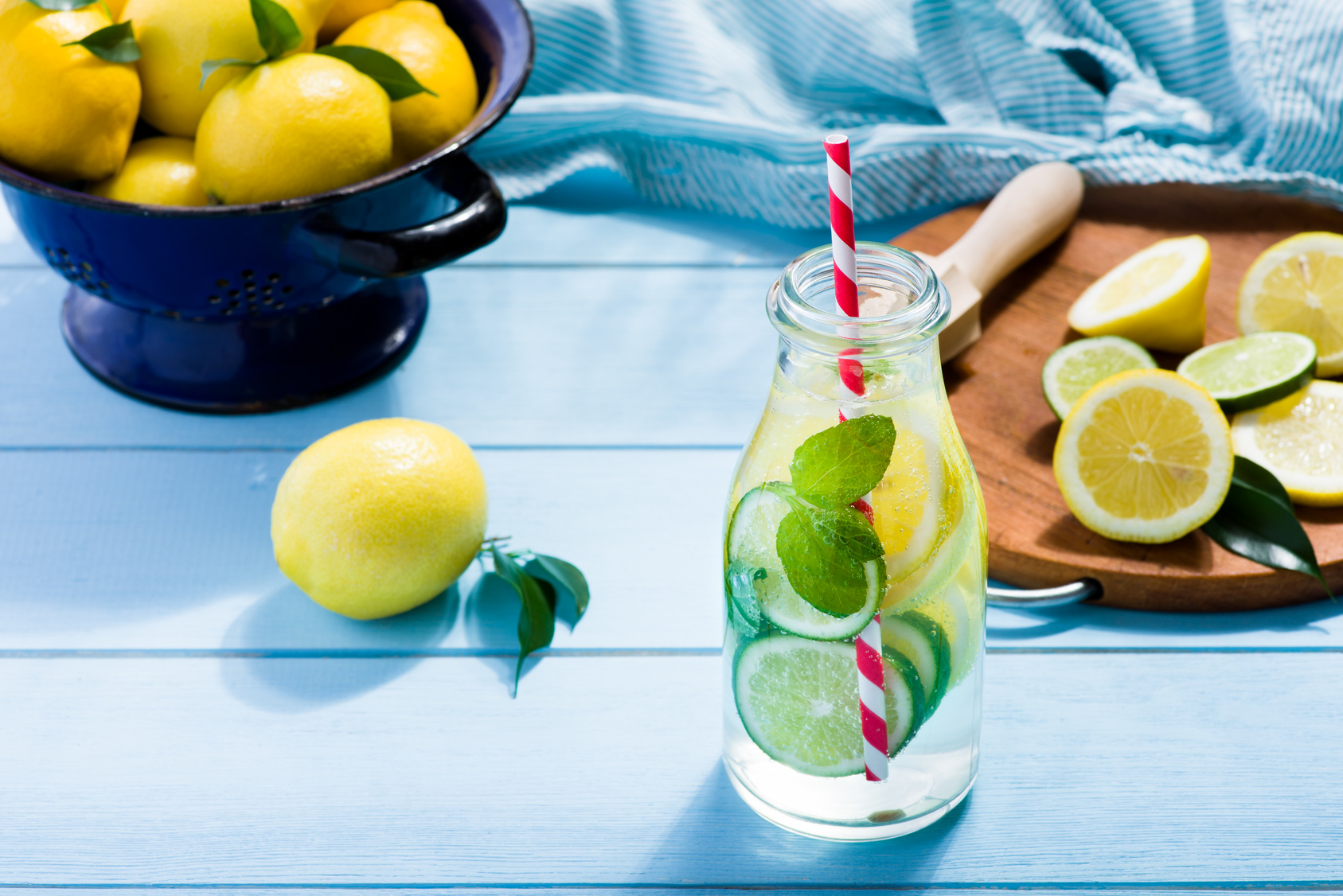 Woda z cytryną