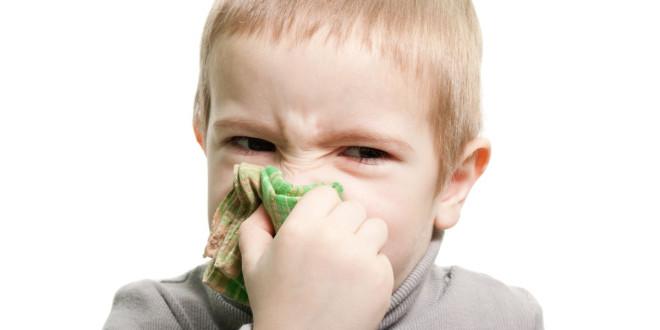 Dziecko z alergią
