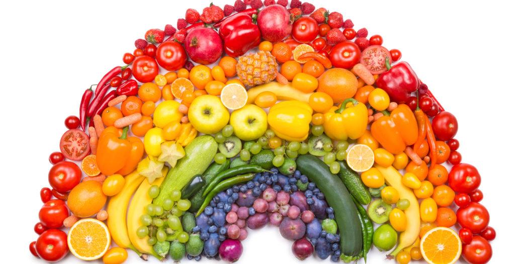 Co kolory mówią nam o warzywach i owocach