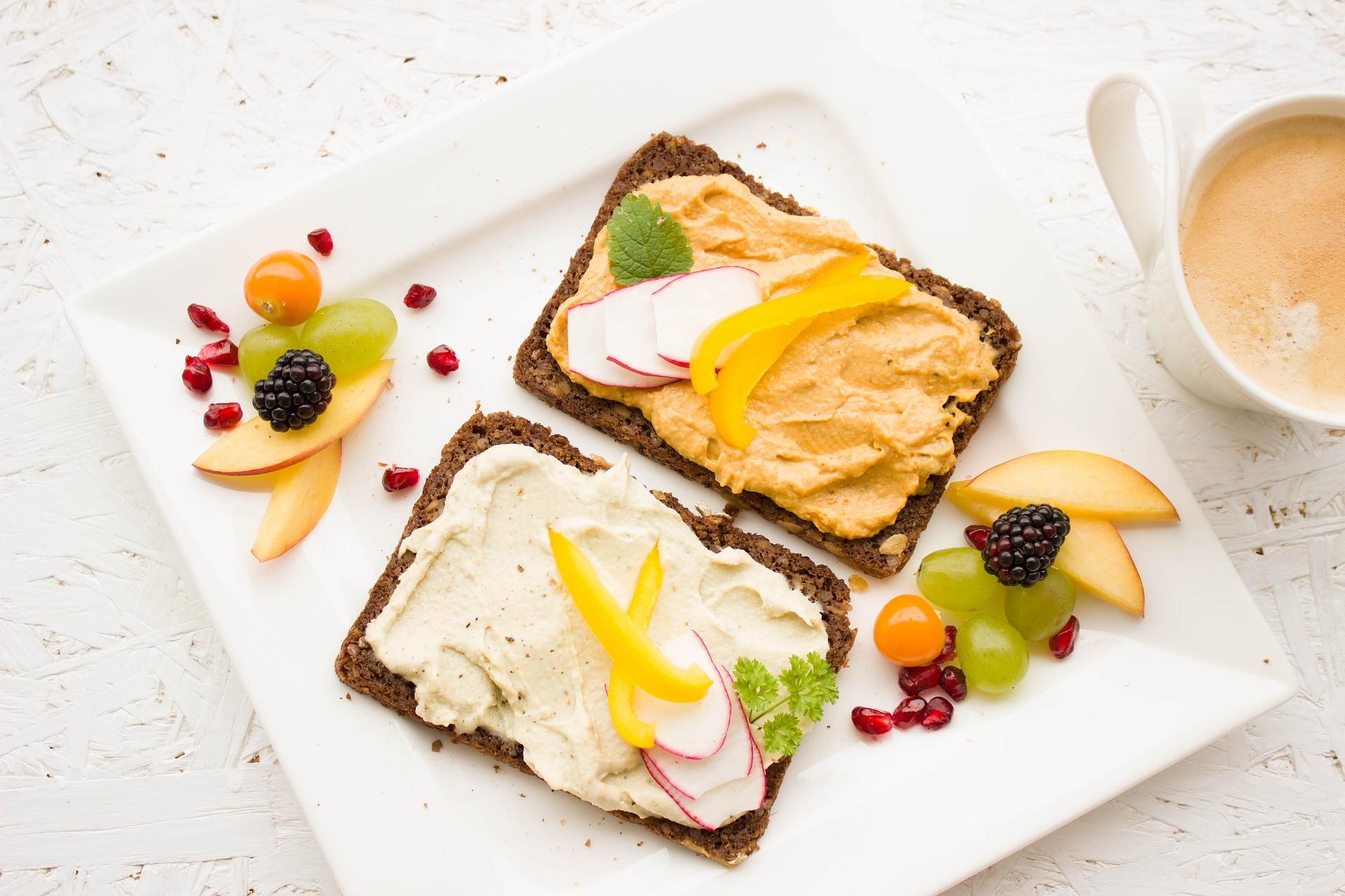 Śniadanie dobrze podane
