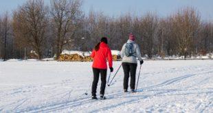 Nordic walking zimą