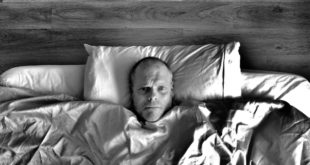 Powikłania grypy - pacjent w łóżku