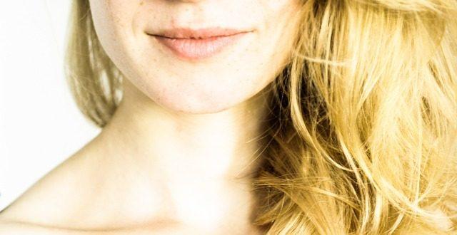 Kobieca twarz