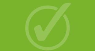 Check - zielony